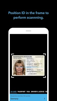 BlinkID - ID card scanner with OCR