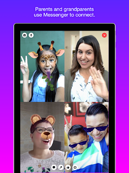 Messenger Kids – Safer Messaging and Video Chat