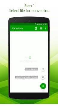 PDF to Excel - PDF File Converter with OCR