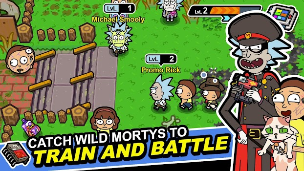 cef7e1efb72893 Rick and Morty  Pocket Mortys - by  adult swim  games - Category - 6 ...