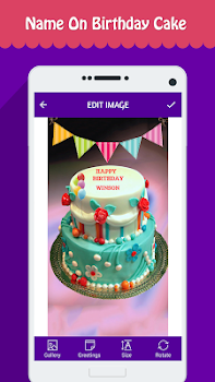 Name Photo On Birthday Cake By Alvina Gomes Photography Category