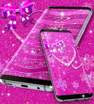Pink glitter live wallpaper by new hd live wallpapers pink glitter live wallpaper altavistaventures Images