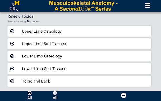 MSK Anatomy - SecondLook - by The University of Michigan - Medical ...