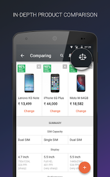 Mobile Price Comparison App