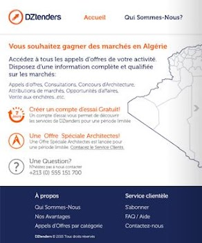 Tenders In Algeria
