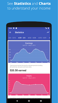 Timesheet - Time Hours and Salary Tracker