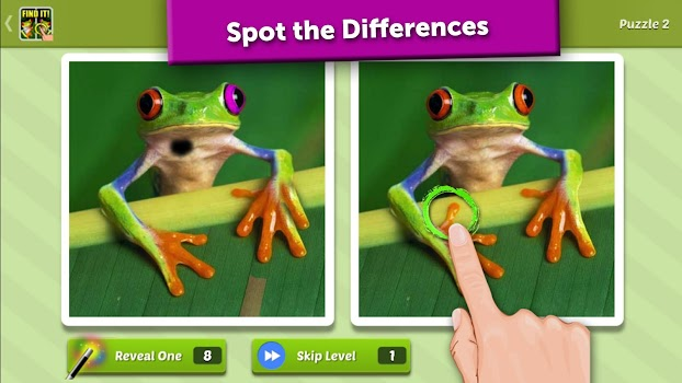 Spot the Difference - Where is it?