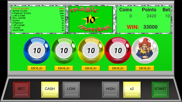 Magic Video Poker