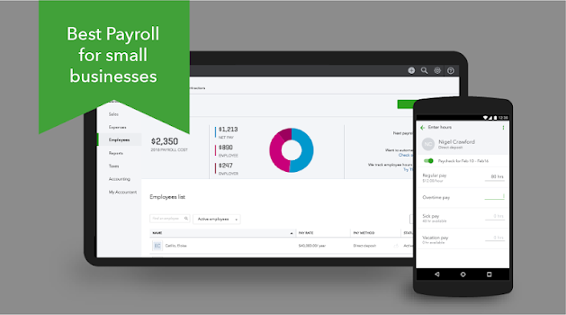 QuickBooks Payroll For Employers