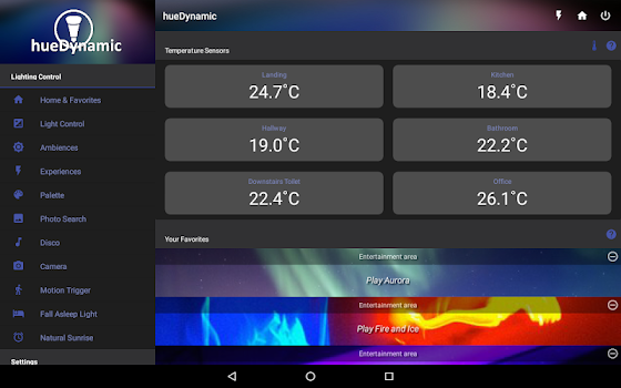 hueDynamic for Philips Hue Pro