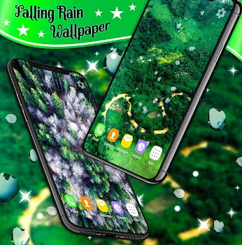 Falling Rain Live Wallpaper By Hd Live Wallpapers And Clocks