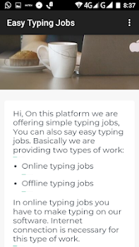 Easy Typing Jobs High Payout - by WDPA - Lifestyle Category