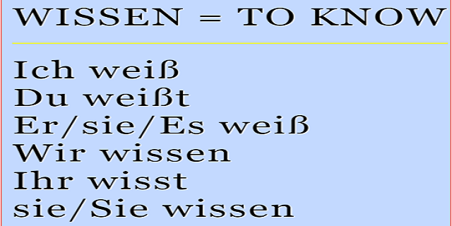 Learn German - Verb of the Day