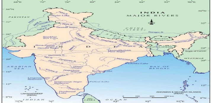 India river map by haryanvi education category 368 reviews india river map gumiabroncs Choice Image