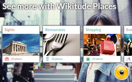 Wikitude Places - Sony Select