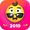 Fancy Launcher - Funny Emojis & Stickers, Themes