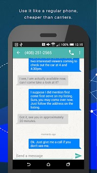Phoner 2nd Phone Number + Anonymous Text & Call
