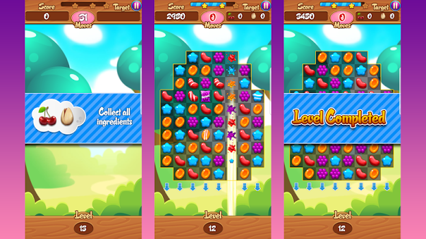 ... Game Home - Launcher with Match 3 Jelly Jamboree ...