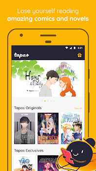 Tapas – Comics, Novels, and Stories