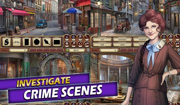 Time Crimes Case: Free Hidden Object Mystery Game