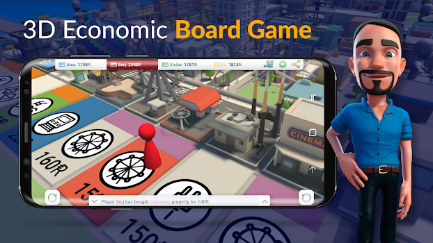 Rentomania - 3d online board game