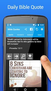 Bible Quotes with Caller ID