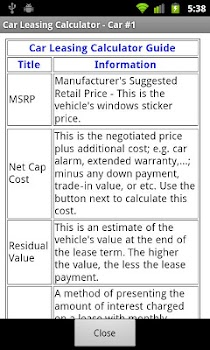 car lease calculator free by byone coder finance category 41