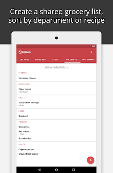 BigOven Recipes, Meal Planner, Grocery List & More
