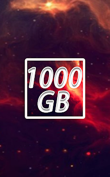 1000 GB Cloud  Free Storage