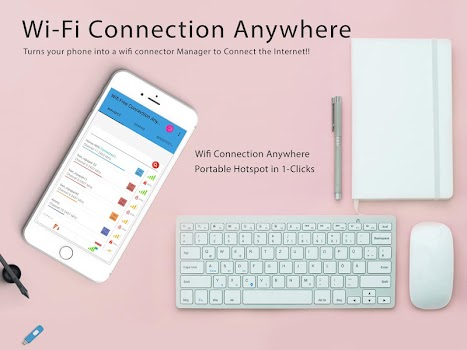 Free Wifi Connection Anywhere & Portable Hotspot