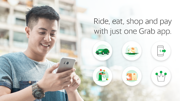 Grab - Transport, Food Delivery, Payments