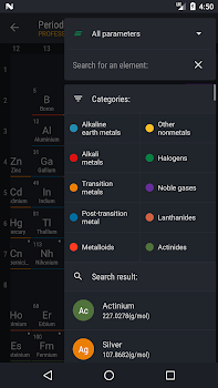 Periodic table 2018 pro by august software 3 app in periodic periodic table 2018 pro urtaz Choice Image