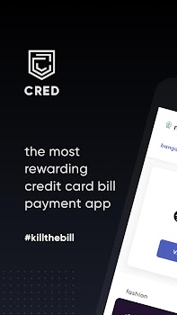 CRED - most rewarding credit card bill payment app