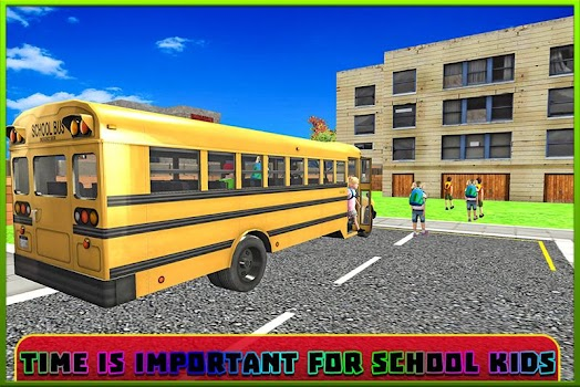 School Bus Coach Simulator 3D