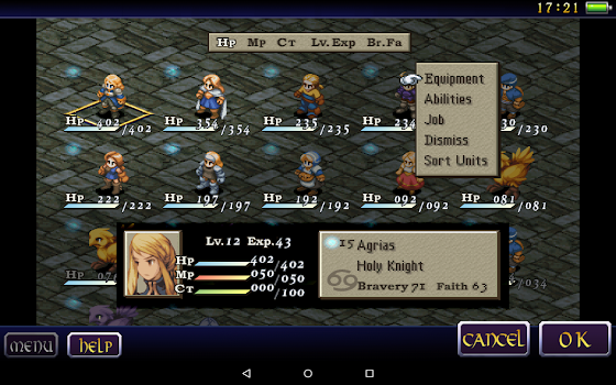 FINAL FANTASY TACTICS WotL By SQUARE ENIX CoLtd Simulation - Create invoice app square enix online store