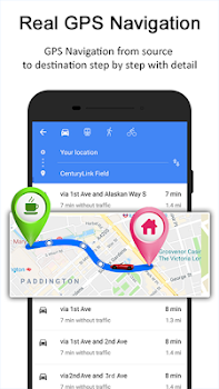 GPS Route Finder - GPS, Maps, Navigation & Traffic