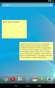 Simple Sticky Note Widget