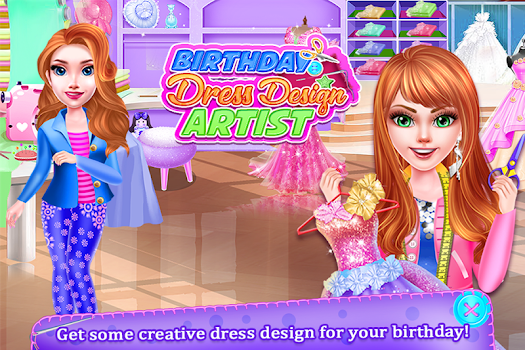 Birthday Dress Design Artist - Fashion Tailor Shop