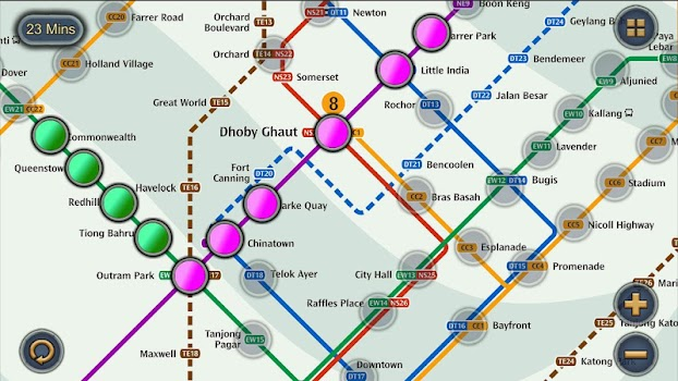 Singapore Mrt Map Route Subway Metro Transport By Momostorm