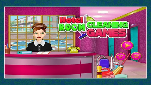 Hotel Room Cleaning Games