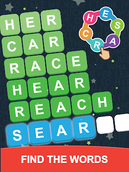 Word Search: Unscramble words