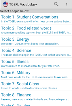 TOEFL Vocabulary Listening + quiz
