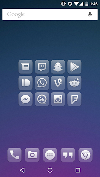 Glasklart - Icon Pack