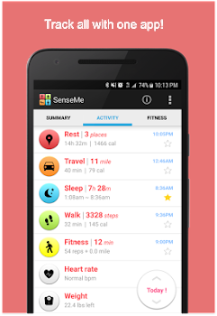 Fitness Tracker & Sleep Tracker