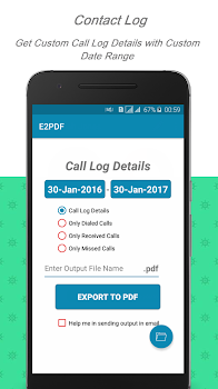 E2PDF - SMS Backup,Contact, TrueCaller,Wish Backup