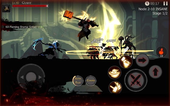 Shadow of Death: Dark Knight - Stickman Fighting