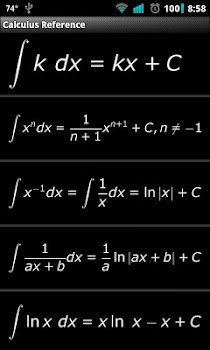 Calculus Reference