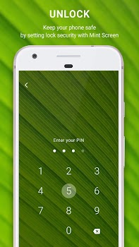 Mint Screen - Live Android Lock Screen