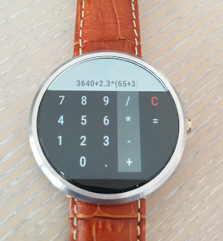 Calculator For Wear OS (Android Wear)