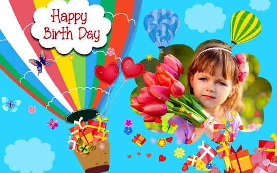 Happy Birthday Frames : Free Birthday Photo Frames - by ANDROID ...